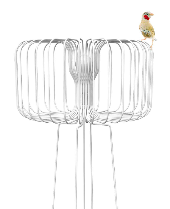 Lampadaire Yu - made in France